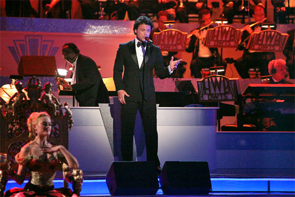Italian singer Vittorio Grigolo  performed on...