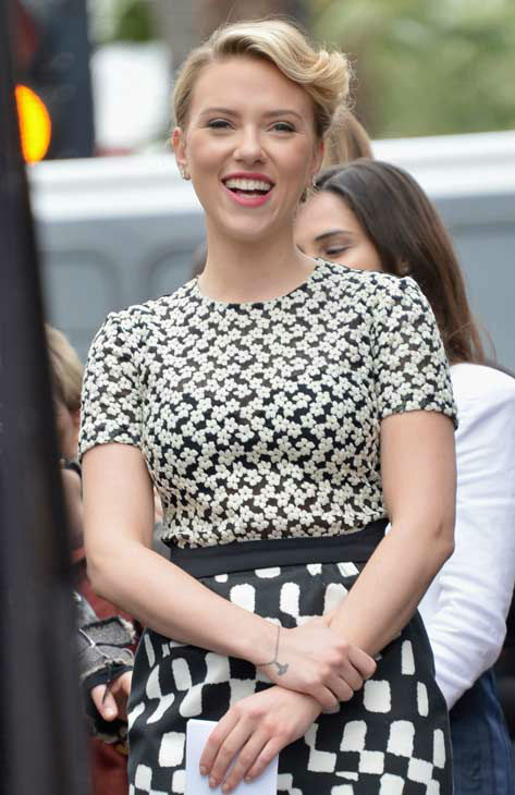 "<div class=""meta ""><span class=""caption-text ""> Scarlett Johansson is honored on the Hollywood Walk of Fame on May 2, 2012 in Hollywood, California.  (Alberto E. Rodriguez/WireImage)</span></div>"