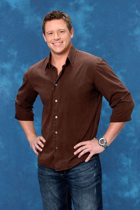 Charlie, 32, a recruiter from Worchester, Massachusetts, appears in a promotional photo for the eight season of 'The Bachelor