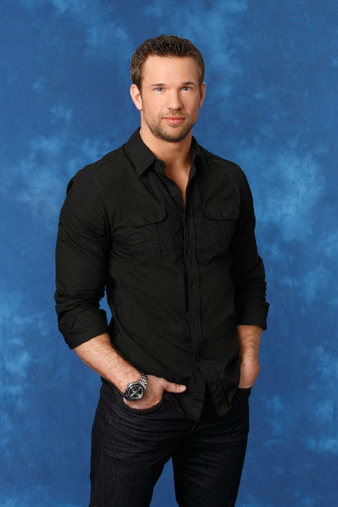 Doug, 33, a real estate agent from Seattle, Washington, appears in a promotional photo for the eight season of 'The Bachelorette,' which features Emily Maynard and premieres on Monday, May 14,