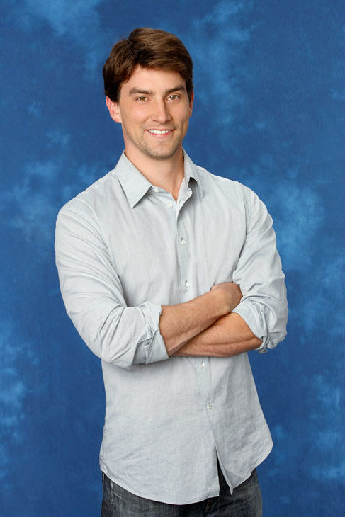 Jean-Paul, 35, a marine biologist from Moraga, California, appears in a promotional photo for the eight season of 'The Bachelorette,' which features Emily Maynard and