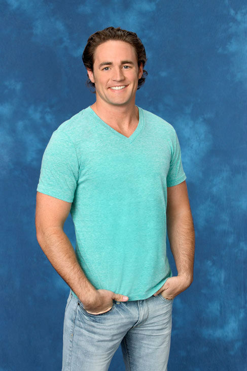 Joe, 27, a field energy advisor from Orlando, Florida, appears in a promotional photo for the eight season of 'The Bachelorette,' which features Emily Ma