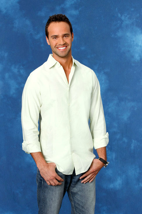 John, 30, a data destruction specialist from St. Louis, Missouri, appears in a promotional photo for the eight season of 'The Bachelorette,' which features Emily Maynard and premieres on Monday, May 14, 2012 at 9:30 p.m. ET on the ABC Television Network.