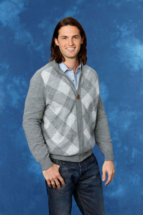 Michael, 26, a rehab consultant from Tahoka, Texas, appears in a promotional photo for the eight season of 'The Bachelorette