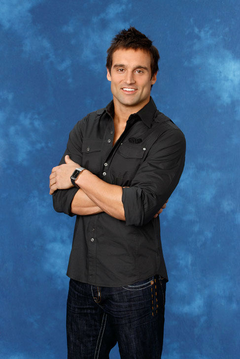 Ryan, 31, a professional sports trainer from Augusta, Georgia, appears in a promotional photo for the eight season of 'The Bachelorette,' which features Emily Maynard and premieres on Monday, May 14, 2012 at