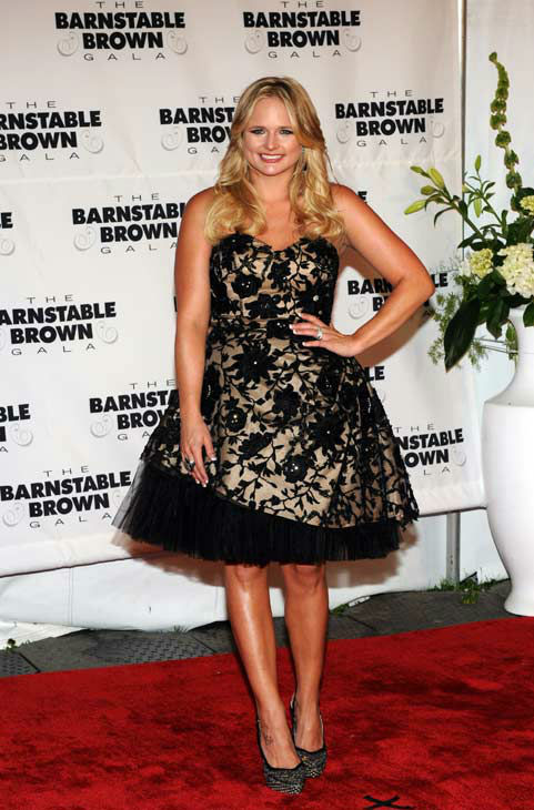 In this photograph taken by AP Images for Longines, Miranda Lambert walks the red carpet at the Derby Eve Barnstable Brown Party, Friday, May 4, 2012, in Louisville, Ky., which raises money for diabetes and Longines was an official sponsor.   Longines, the Swiss watch manufacturer known for its luxury timepieces, is the Official Watch and Timekeeper of the 138th annual Kentucky Derby.  <span class=meta>(AP Photo&#47; Diane Bondareff)</span>