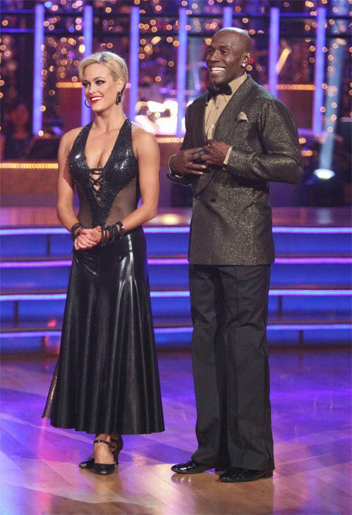 Football star Donald Driver and his partner Peta Murgatroyd received 27 out of 30 points from the judges for their Tango on week eight of &#39;Dancing With The Stars,&#39; which aired on Monday, May 7, 2012. <span class=meta>(ABC Photo&#47; Adam Taylor)</span>