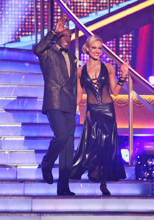 "<div class=""meta ""><span class=""caption-text "">Football star Donald Driver and his partner Peta Murgatroyd received 27 out of 30 points from the judges for their Tango on week eight of 'Dancing With The Stars,' which aired on Monday, May 7, 2012. (ABC Photo/ Adam Taylor)</span></div>"