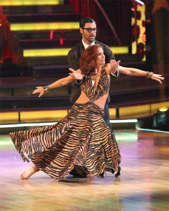 Melissa Gilbert, a former child star who played Laura on &#39;Little House on the Prairie,&#39; and her partner Maksim Chmerkovskiy received 24 out of 30 points from the judges for their Fox Trot on week eight of &#39;Dancing With The Stars,&#39; which aired on Monday, May 7, 2012. <span class=meta>(ABC Photo&#47; Adam Taylor)</span>