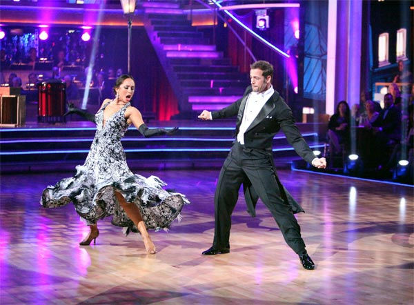"<div class=""meta ""><span class=""caption-text "">Telenovela star William Levy and his partner Cheryl Burke received 30 out of 30 points from the judges for their Fox Trot on week eight of 'Dancing With The Stars,' which aired on Monday, May 7, 2012. (ABC Photo/ Adam Taylor)</span></div>"
