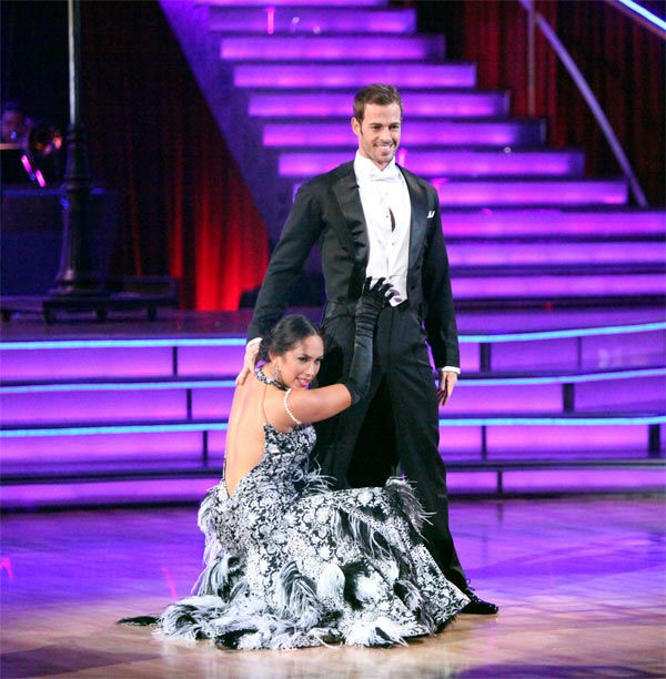 Telenovela star William Levy and his partner Cheryl Burke received 30 out of 30 points from the judges for their Fox Trot on week eight of &#39;Dancing With The Stars,&#39; which aired on Monday, May 7, 2012. <span class=meta>(ABC Photo&#47; Adam Taylor)</span>