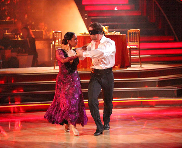 "<div class=""meta ""><span class=""caption-text "">Telenovela star William Levy and his partner Cheryl Burke, along with guest dancer Tony Dovolani, received 27 out of 30 points from the judges for their 'Trio' Paso Doble on week eight of 'Dancing With The Stars,' which aired on Monday, May 7, 2012. His total score was 57 out of 60 points. (ABC Photo/ Adam Taylor)</span></div>"