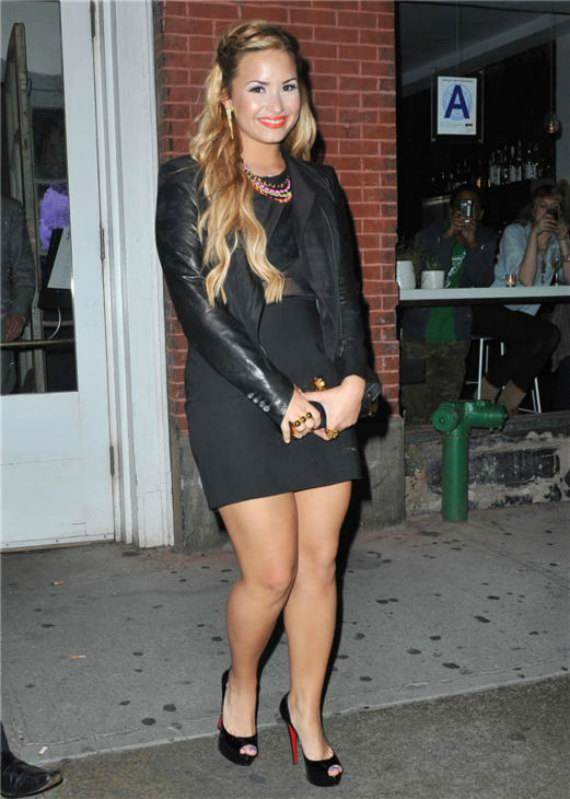 "<div class=""meta image-caption""><div class=""origin-logo origin-image ""><span></span></div><span class=""caption-text"">Demi Lovato leaves the ABC Kitchen restaurant in New York on May 15, 2012. (Humberto Carreno / startraksphoto.com)</span></div>"
