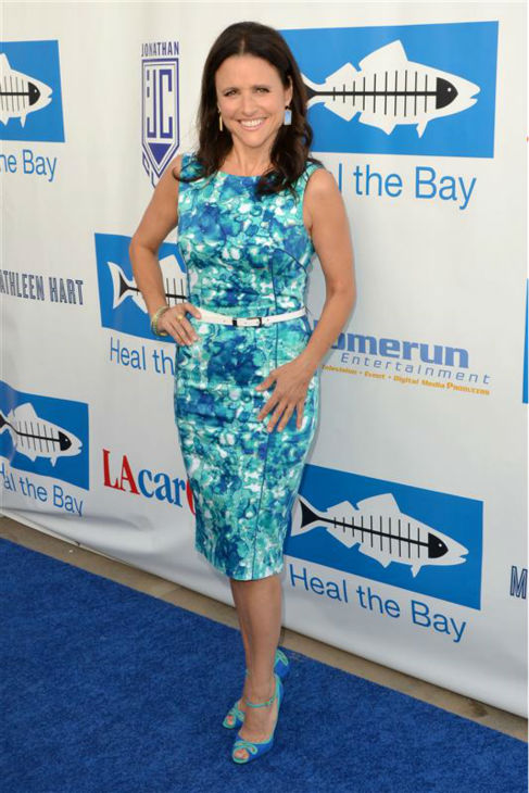 Julia Louis-Dreyfus appears at Heal The Bay&#39;s 2012 Bring Back The Beach gala in Santa Monica, California on May 17, 2012. <span class=meta>(Tony DiMaio &#47; Startraksphoto.com)</span>
