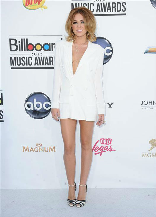"<div class=""meta ""><span class=""caption-text "">Miley Cyrus appears at the 2012 Billboard Music Awards in Las Vegas, Nevada on May 20, 2012.  (Kyle Rover / startraksphoto.com)</span></div>"