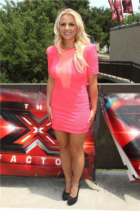 Britney Spears appears at the Austin, Texas auditions for FOX&#39;s &#39;The X Factor&#39; on May 24, 2012.  <span class=meta>(Norman Scott &#47; startraksphoto.com)</span>