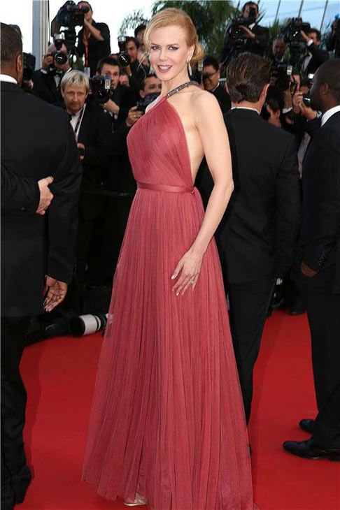 Nicole Kidman appears at the 'Paperboy' premiere during 65th Cannes Film Festival on May 24, 2012.