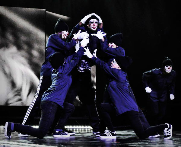 "<div class=""meta ""><span class=""caption-text "">Dancers appears in a photo from a rehearsal for Madonna's Tel Aviv performance, the first stop on her 'MDNA' tour which launched on May 31, 2012. (Facebook.com/madonna)</span></div>"