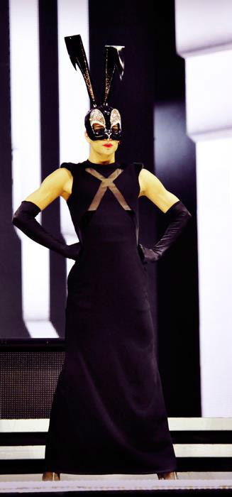 A performer appears in a photo from a rehearsal for Madonna&#39;s Tel Aviv performance, the first stop on her &#39;MDNA&#39; tour which launched on May 31, 2012.  <span class=meta>(Facebook.com&#47;madonna)</span>