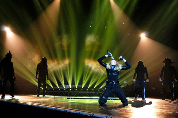 "<div class=""meta ""><span class=""caption-text "">Madonna appears in a photo from a rehearsal for her Tel Aviv performance, the first stop on her 'MDNA' tour which launched on May 31, 2012. (Facebook.com/madonna)</span></div>"