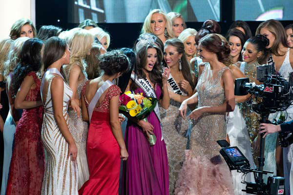 Miss Rhode Island USA 2012, Olivia Culpo, is...