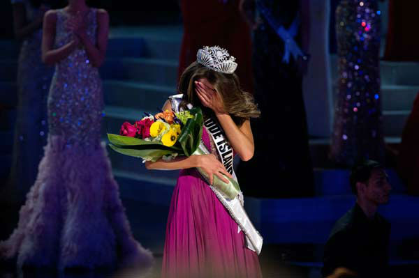 Miss Rhode Island USA 2012, Olivia Culpo, is crowned the winner of the 2012 Miss USA Competition in Las Vegas, Nevada on Sunday, June 3, 2012. <span class=meta>(Miss Universe Organization&#47;Richard Harbaugh)</span>