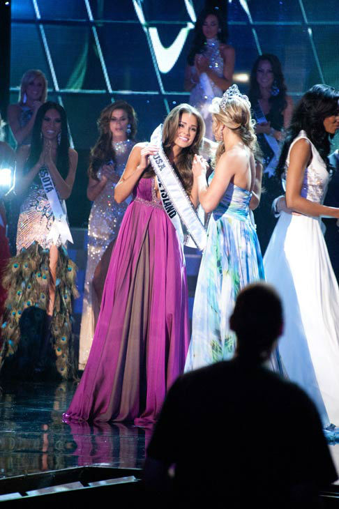 Miss Rhode Island USA 2012, Olivia Culpo, is crowned the winner of the 2012 Miss USA Competition in Las Vegas, Nevada on Sunday, June 3, 2012.  <span class=meta>(Miss Universe Organization&#47;Darren Decker)</span>