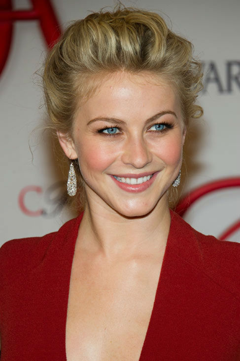 Julianne Hough arrives at the CFDA Fashion Awards on Monday, June 4, 2012 in New York.