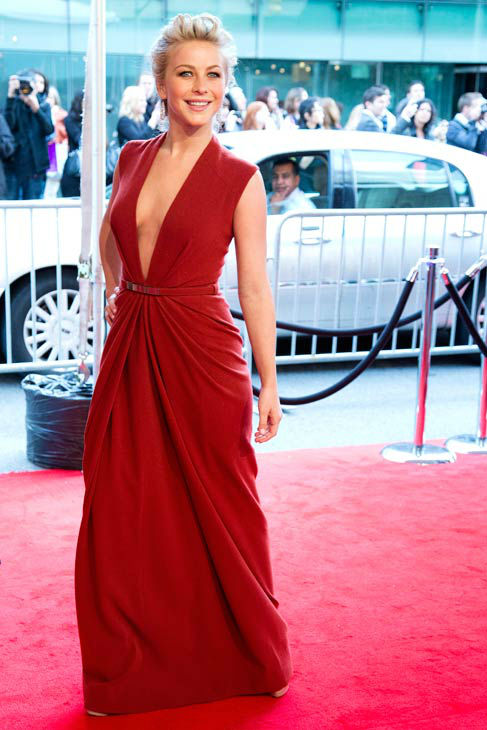 "<div class=""meta ""><span class=""caption-text "">Julianne Hough arrives at the CFDA Fashion Awards on Monday, June 4, 2012 in New York. (Photo/Charles Sykes)</span></div>"