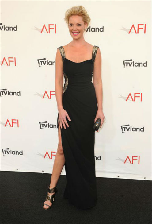 Katherine Heigl appears at the 2012 AFI Life Achievement Award event, honoring Shirley MacLaine, in Los Angeles on June 7, 2012. <span class=meta>(Sara De Boer &#47; Startraksphoto.com)</span>
