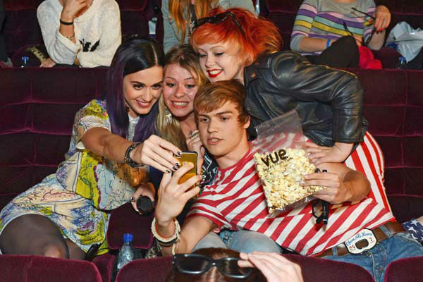 Pop superstar Katy Perry makes a surprise appearance at a special sneak preview of her new 3D feature film &#39;Katy Perry: Part Of Me&#39; at the Apollo West End on June 7, 2012 in London, England.  <span class=meta>(J Hogan&#47;Getty Images For Paramount Pictures International)</span>