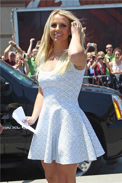 Britney Spears appears at the Kansas City, Missouri auditions for FOX&#39;s &#39;The X Factor&#39; on June 8, 2012.  <span class=meta>(Norman Scott &#47; startraksphoto.com)</span>