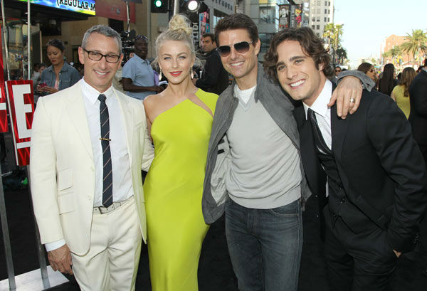 Director Adam Shankman, from left, and actors...