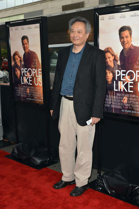 Ang Lee attends the 2012 Los Angeles Film...