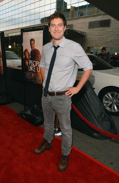 Mark Duplass attends the 2012 Los Angeles Film...