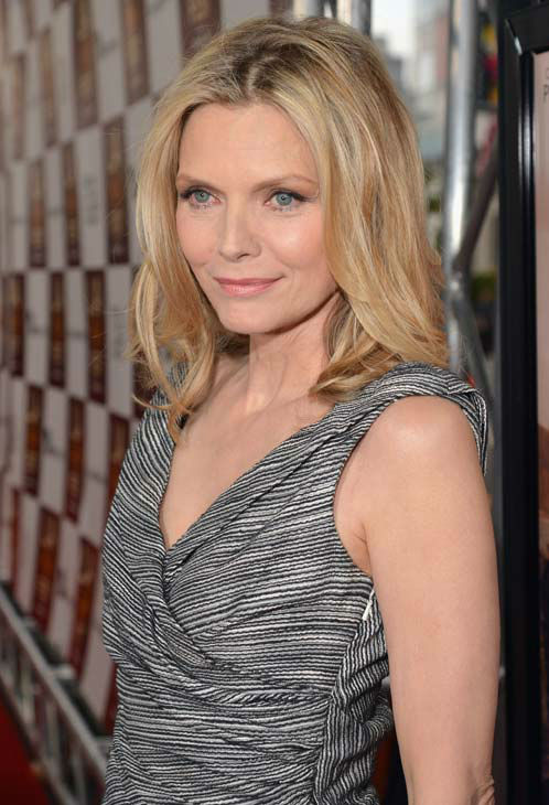 Actress Michelle Pfeiffer attends the 2012 Los...