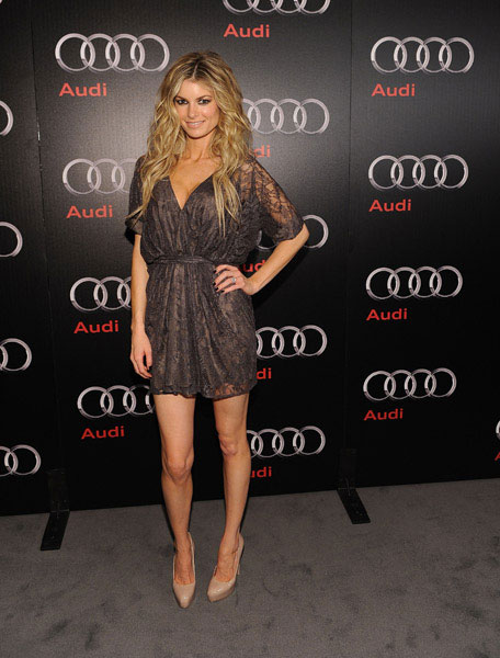 Model Marissa Miller attends a private dinner hosted by Audi during Super Bowl XLV Weekend at the Audi Forum Dallas on February 5, 2011 in Dallas, Texas.