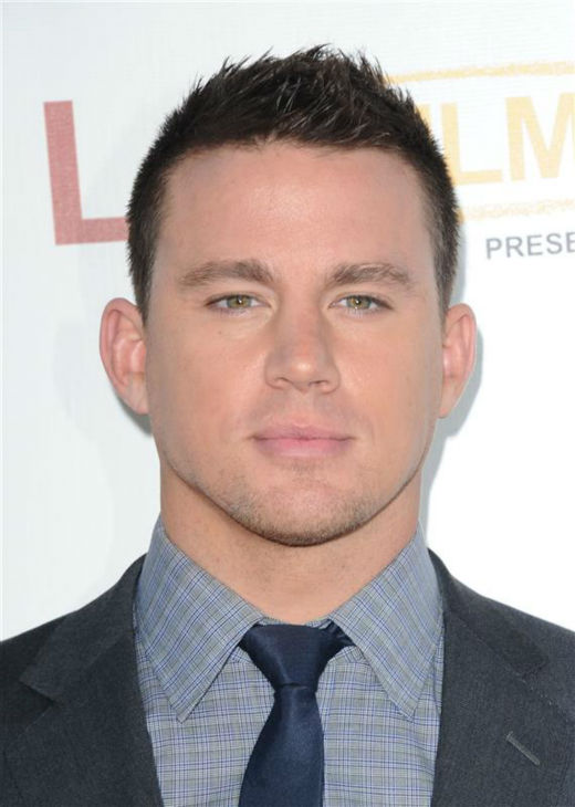 "<div class=""meta image-caption""><div class=""origin-logo origin-image ""><span></span></div><span class=""caption-text"">The 'Severely-Overdressed-For-This-Premiere' stare: Channing Tatum appears at the premiere of 'Magic Mike' at the 2012 Los Angeles Film Festival on June 24, 2012. (Sara De Boer / Startraksphoto.com)</span></div>"