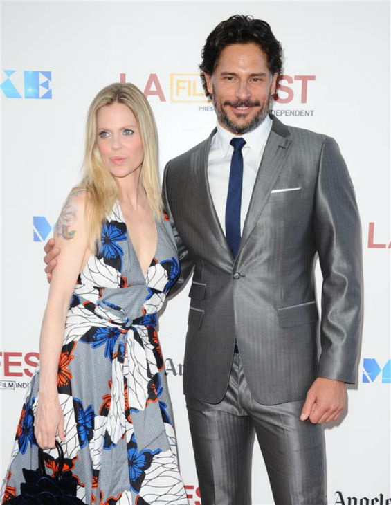 The &#39;Is-Pam-Not-Impressed?&#39; stare: Joe Manganiello appears with &#39;True Blood&#39; co-star Kristin Bauer van Straten at the premiere of his movie &#39;Magic Mike&#39; in Los Angeles on June 24, 2012. In the HBO series, he plays the werewolf Alcide Herveaux and she plays the vampire Pam De Beaufort .  -Los Angeles, CA - 06&#47;24&#47;2012Magic Mike Los Angeles Premiere Film Festival Closing Night Gala-PICTURED: Kristin Bauer van Straten, Joe Manganiello -PHOTO by: Sara De Boer&#47;startraksphoto.com -SDL_7369  Startraks Photo New York, NY  For licensing please call 212-414-9464 or email sales@startraksphoto.com <span class=meta>(Sara De Boer &#47; Startraksphoto.com)</span>