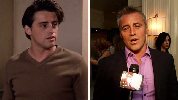 Left -- Matt LeBlanc appears in a still from 'Friends.' Matt LeBlanc appears at the season 2 premiere party for 'Episodes' on June 29, 2012.
