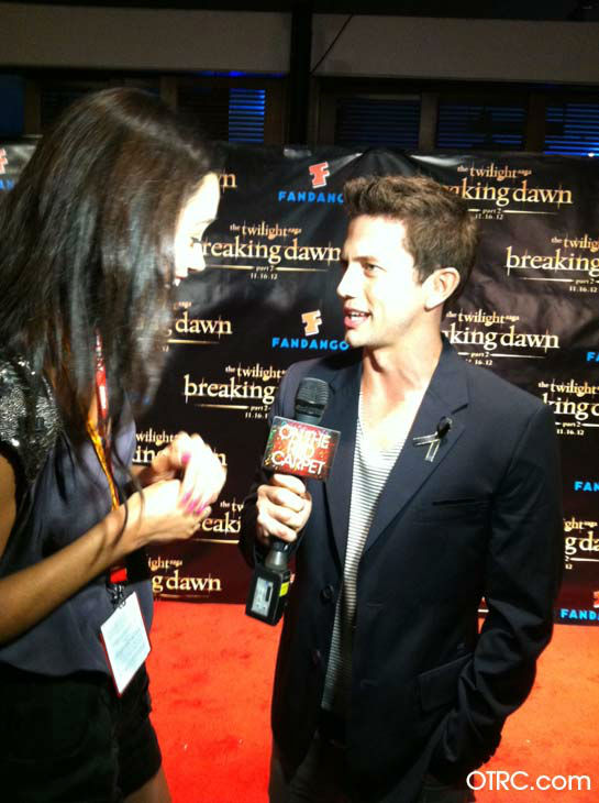 'Twilight' actor Jackson Rathbone appears in a...
