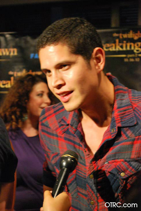 'Twilight' actor JD Pardo appears in a photo at San Diego Comic-Con on Wednesday, July 11, 2012.