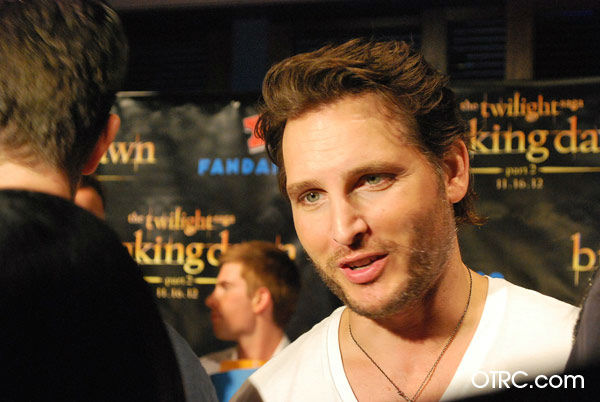 'Twilight' actor Peter Facinelli appears in a photo at San Diego Comic-Con on Wednesday, July 11, 2012.