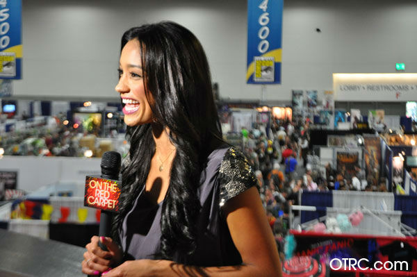OnTheRedCarpet.com host Rachel Smith appears in a photo at San Diego Comic-Con on Wednesday, July 11, 2012.  <span class=meta>(OTRC Photo)</span>