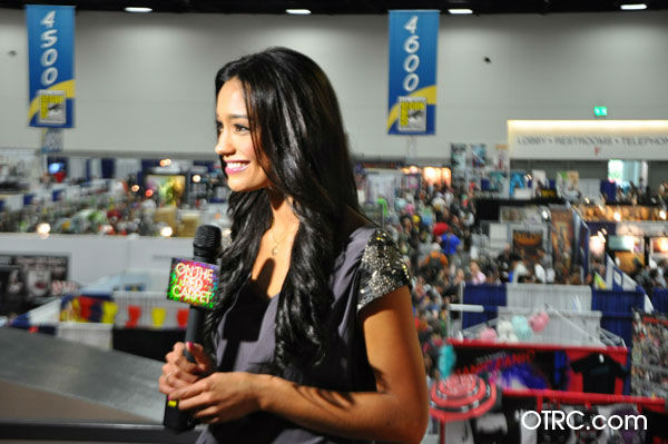 OnTheRedCarpet.com host Rachel Smith appears in...