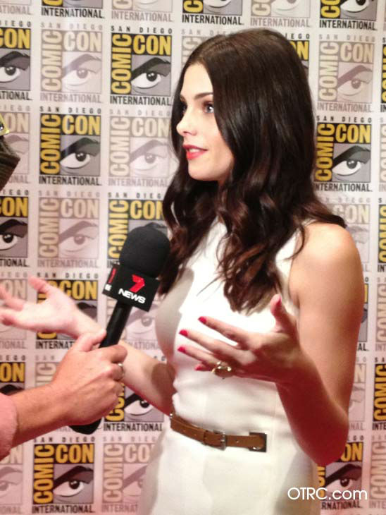"<div class=""meta ""><span class=""caption-text "">'Twilight' actress Ashley Greene appears in a photo at San Diego Comic-Con on Thursday, July 12, 2012. (OTRC Photo)</span></div>"