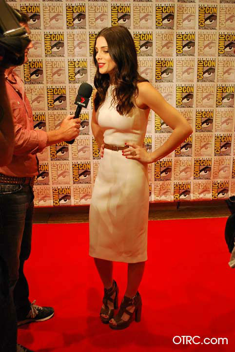 &#39;Twilight&#39; actress Ashley Greene appears in a photo at San Diego Comic-Con on Thursday, July 12, 2012. <span class=meta>(OTRC Photo)</span>