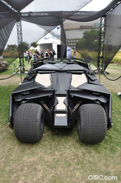 &#39;The Dark Knight Rises&#39; Batmobile appears in a photo at San Diego Comic-Con on Thursday, July 12, 2012. <span class=meta>(OTRC Photo)</span>
