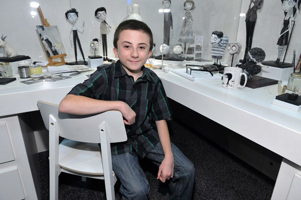 Atticus Shaffer, who voices Edgar in &#39;Frankenweenie,&#39; appears in a photo at San Diego Comic-Con on Thursday, July 12, 2012. <span class=meta>(WireImage Photo&#47;Alberto E. Rodriguez)</span>