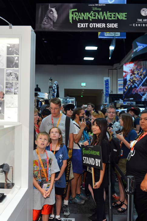 A general view of atmosphere with Disney is seen during Comic-Con International 2012 at San Diego Convention Center on July 12, 2012 in San Diego, California.  <span class=meta>(WireImage Photo&#47;Alberto E. Rodriguez)</span>